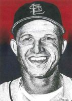 Stan Musial by JRosales1