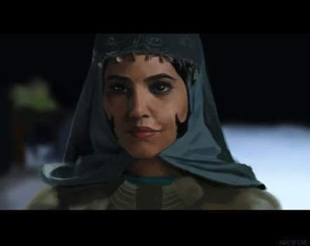 Queen Of Persia by Arcifere