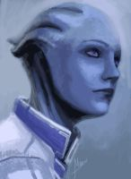 Liara by Kitao-chan
