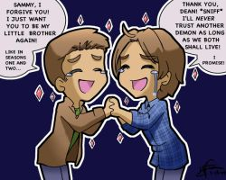 SPN I'm Sorry by LauraDoodles