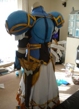 Lenneth Valkyrie Cosplay Finished - Back by arido-X