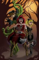 Jack, Red, and Goldie by Anamated