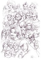 Faces by WhiteLeyth