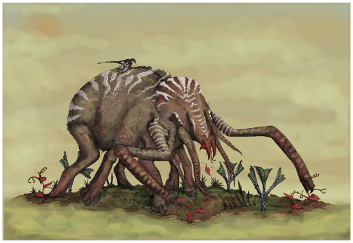 Anansi in the Swamp by Sheather888