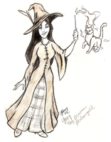 Young Minerva McGonagall by Ashwin24