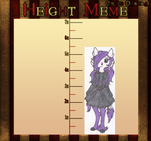 CD: Height Meme by MysticFlygon
