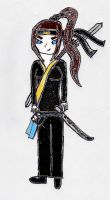 Jasmine- with weapons by CartoonMad97