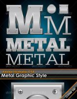 Metal Plate Illustrator Style by gruberdesigns
