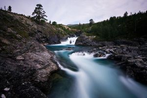River runs blue by CalleHoglund