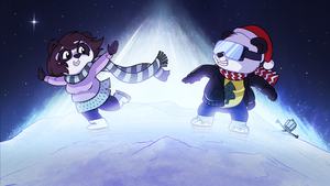 Funky Panda youtube art - December 2014 by petirep