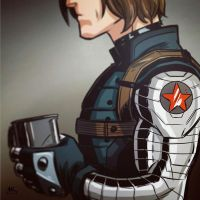 Mugshot Monday: Winter Soldier by AndrewKwan