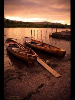 Boats at Derwent by GMCPhotographics