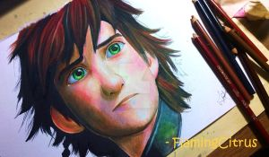 Hiccup, How To Train Your Dragon 2 (VIDEO BELOW) by FlamingCitrus