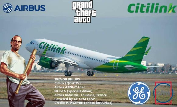 First A320neo Citilink PK-GTA by turkhavaproject