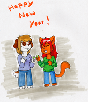 Happy New Years '15 by Sixala