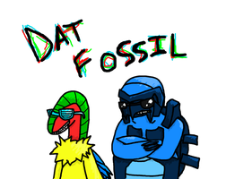 DAT FOSSIL by BlueMew210210