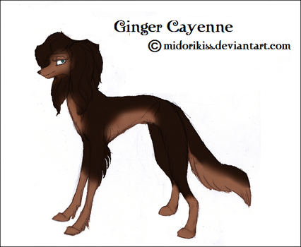 Ginger Cayenne by Midorikiss