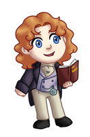 Chibi 8th Doctor v2 by TwinEnigma