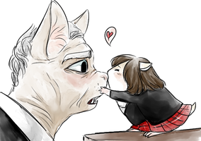 12th doctor and clara by norang94