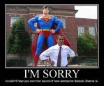 Super Obama by AbominationOfTime