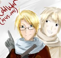 -APH- Cold War Ties by ohboyomi