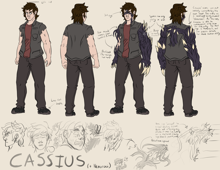 Cassius Reference by ThisJPguy