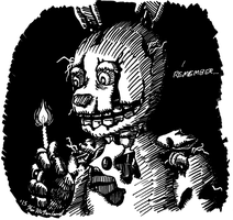 Springtrap Remembers by Negaduck9