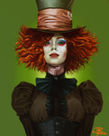 Mad Hatress by 13rianne