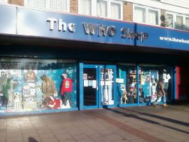 The Who Shop, East Ham. by DoctorWhoOne