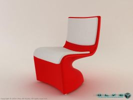 Modern Chair by olve3d