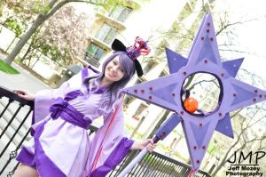 Espeon Gijinka 2.0 Cosplay. :D by HaleyHelloKitty