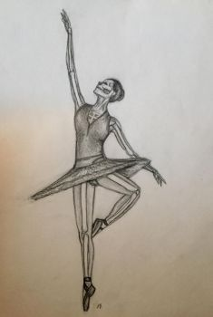 Dancing Death by azul013