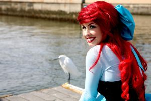 Ariel Little Mermaid Dress 2 by trueenchantment