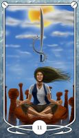 Page of Swords by Shegon