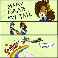 Mary Grab My Tail by MidNight-Vixen