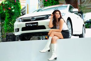 car and the lady-2 by fdjs