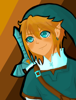 Twilight Princess ~ Link by Teka-L