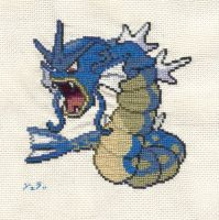 Gyakkyo Cross Stitch by JealaTriumph