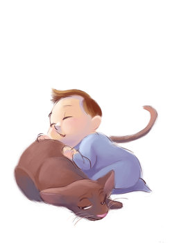 Sleepy time by Tiuni