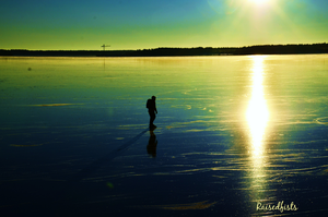 Swede on thin ice by RaisedFists