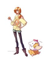 Hipster Misty by hellcorpceo