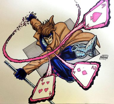 Gambit commission by Nuttman73