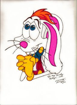 Sharpie Roger Rabbit by Tommyb345