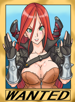 Katarina Most Wanted by Ray-D-Sauce