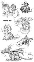 Dragons by jrtracey