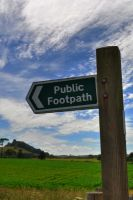 HDR Footpaths by rayrussell2000uk