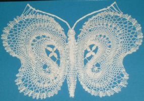 Butterfly Series - White by Myrthilla