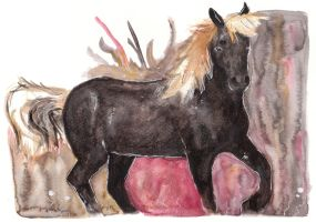 Horse 22 by Paintwick