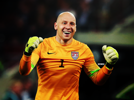 Brad Guzan by Dicmiss