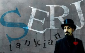Serj Tankian Grunge Wallpaper by SugaSuga42
